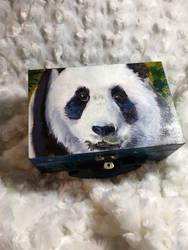 Panda box by latent-ookami