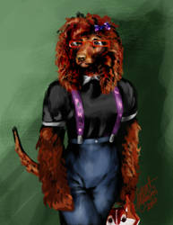 Alternate Doggo by latent-ookami