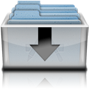 Downloads Drawer Reflect Icon by Greg-27