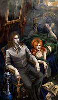The Dreams in the Witch House by Girhasha