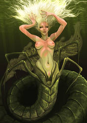 Siren of the Depths by Girhasha
