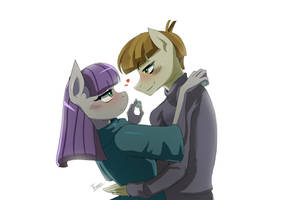 MLP :: The Maud Couple by Traupa