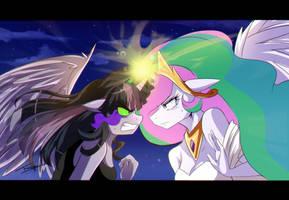 Epic battle: Evil learner vs Mistress