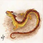 Salamander dragon by julivet