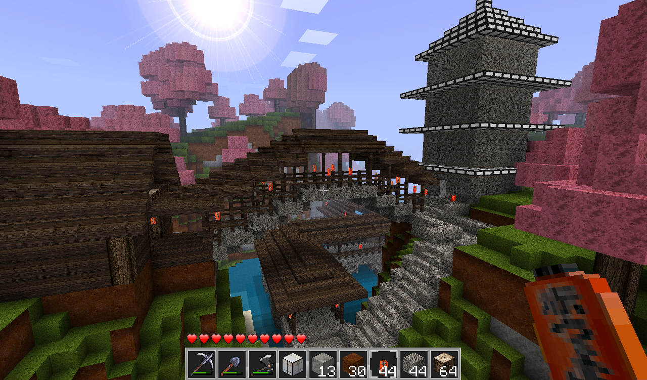 Map Asiatique Minecraft - Minecraft - Le style Chinois - YouTube