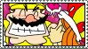 Wario and Mona Stamp by HoppyBadBunny