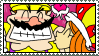 Wario and Mona Stamp by HoppyBadBunny