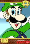 Ninty Card - Luigi