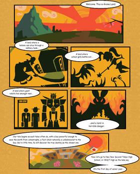 Anime Land - Page 1