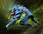Venom Pin-Up Colored