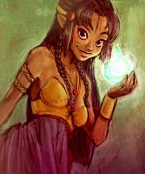 Elfy magic by lainchan