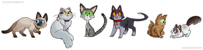 Kitties by lainchan