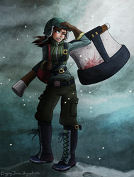 Battle Axe-colour by lainchan