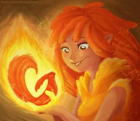 Phoenix Nursery by lainchan