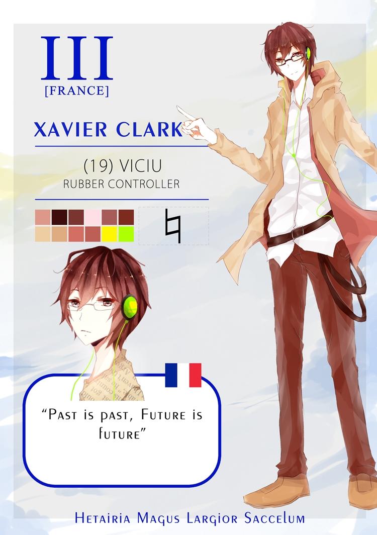 HMLS: Xavier Clark by seiryuo