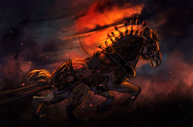 Through Fire and Blood by AmadoodlesARPG