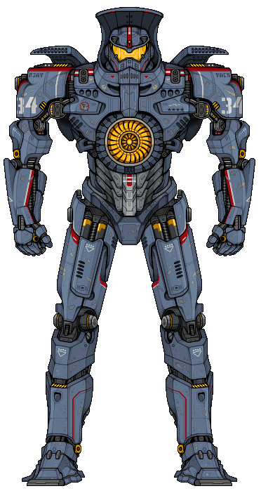 Gipsy Danger by alexmicroheroes on DeviantArt