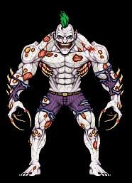 Titan Joker (Arkham Asylum) by alexmicroheroes
