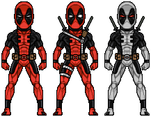 Deadpool by alexmicroheroes