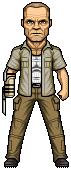 Merle Dixon (The Walking Dead season 3) by alexmicroheroes
