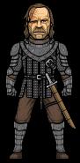 Sandor Clegane (The Hound) by alexmicroheroes
