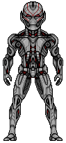 Ultron Prime (Avengers: Age Of Ultron) by alexmicroheroes