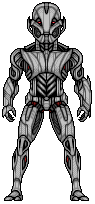 Ultimate Ultron by alexmicroheroes