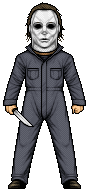 Michael Myers by alexmicroheroes