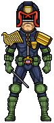 Judge Dredd by alexmicroheroes