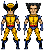 Wolverine (90's yellow) by alexmicroheroes
