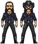 Lemmy Kilmister by alexmicroheroes