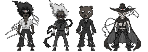 Throwback Thursday- Afro Samurai by alexmicroheroes