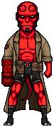 Hellboy by alexmicroheroes