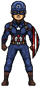 Captain America (Avengers: Endgame) by alexmicroheroes