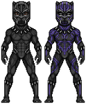 Black Panther by alexmicroheroes
