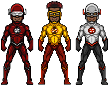 The Flash (AA Universe Variants) by alexmicroheroes