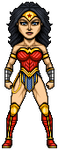 Wonder Woman by alexmicroheroes
