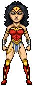Wonder Woman by alexmicroheroes