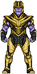 Thanos (Avengers: Endgame) by alexmicroheroes