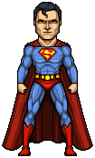 Superman by alexmicroheroes