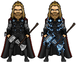 Thor (Avengers: Endgame) by alexmicroheroes