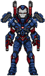 Iron Patriot by alexmicroheroes