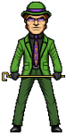 The Riddler by alexmicroheroes