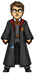 Harry Potter by alexmicroheroes