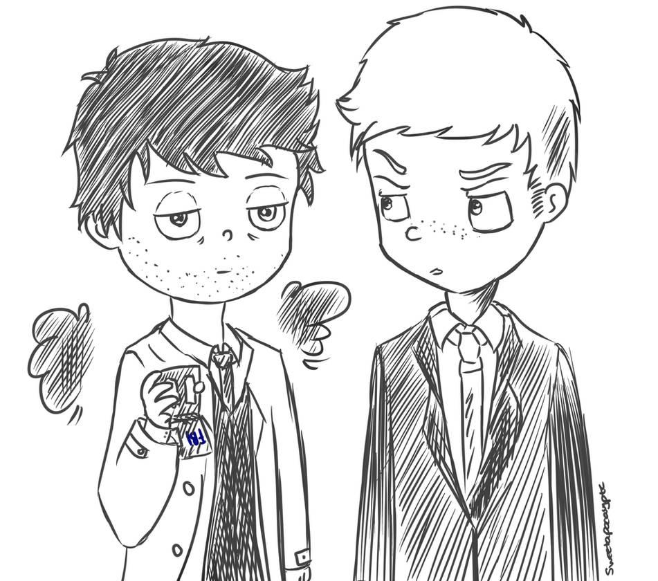 FBI agents by Sweetapocalyptc