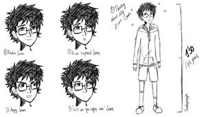 Trying to draw James Potter by Sweetapocalyptc