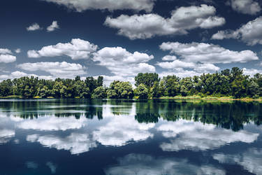 Lake Reflection by MarvinDiehl