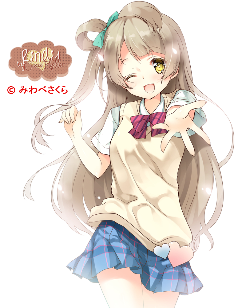 Boy And Girl Love Live Wallpaper : Minami Kotori Render by JessxFlyller on DeviantArt
