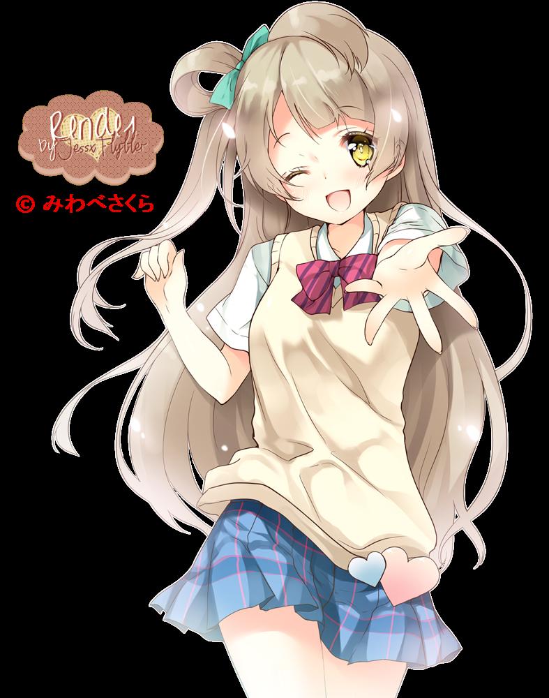 Minami Kotori Render by JessxFlyller