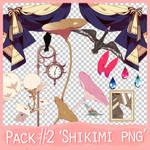 PNG Pack #2 'Shikimi'